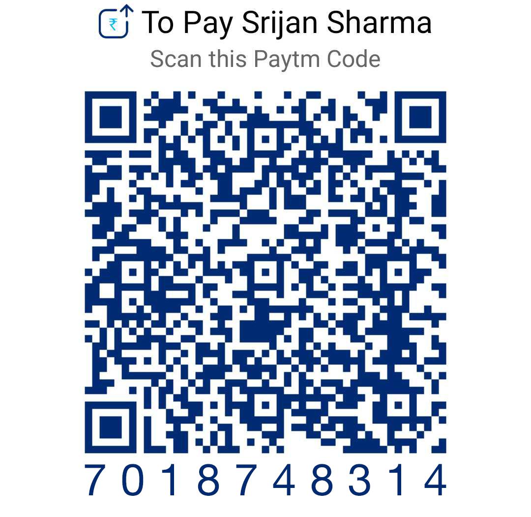 7018748314 Paytm QR Code
